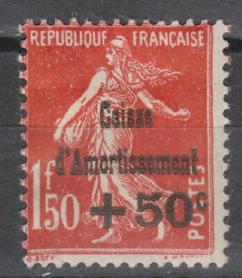 SUPERBE YT N°277 CAISSE AMORTISSEMENT NEUF GOMME* / MH Cote + 125 €