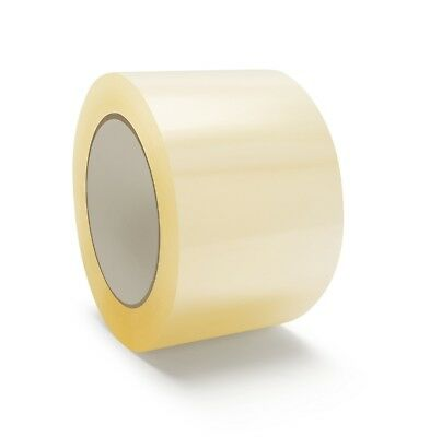 3 Inch x 110 Yards Clear Packing Tape 2.3 Mil Self Adhesive Seal Tape 192 Rolls