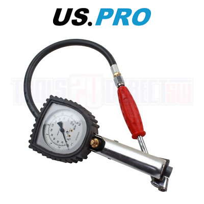 US PRO Air Line Tyre Inflator With 75MM Gauge 8811