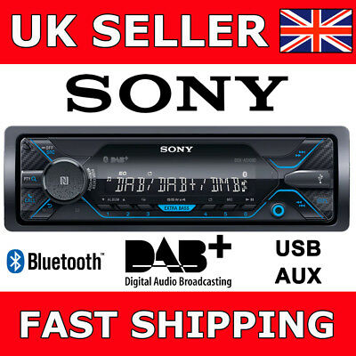 Sony DSX-A510BD Bluetooth DAB Car Van Radio Stereo Headunit 4x55W Flac Files