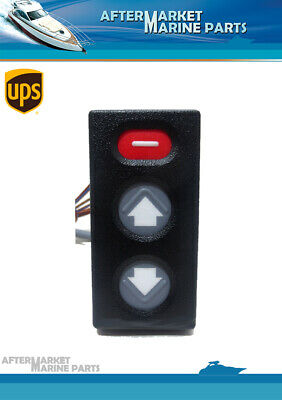 Volvo Penta Power Trim Control Panel DP-E, DP-G & DP-X Replaces: 3855650