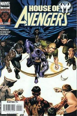 House Of M: Avengers #5 (2008) 1St Printing Bagged & Boarded Marvel Comics