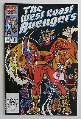 West Coast Avengers #9 VF Vol. 2 1985 ** $3.99 Unlimited Shipping **