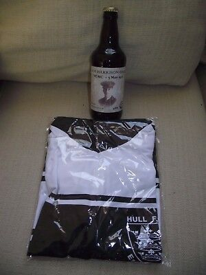 Hull FC cycling jersey + Jack Harrison VC Wold Top Gold beer