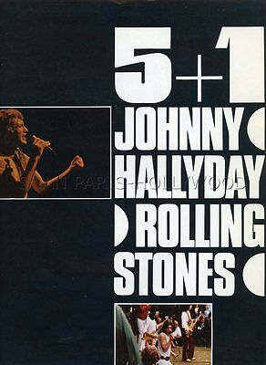 Johnny Hallyday  Les Rolling Stones  5 + 1  1969 Rare Synopsis