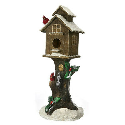 Birdhouse on Log - 89cm