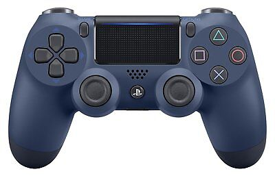 NEW SONY [PS4] Dualshock 4 Midnight Blue Wireless Controller JAPAN OFFICIAL