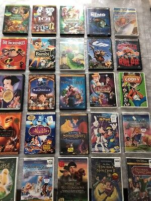 Huge Lot Of Disney Dvd Classics ! 10 Are Brand New , Lion King, Timeless Tales
