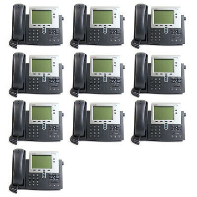 Joblot of 10 Cisco 7942G IP Telephone I 12 Months Warranty I Free Delivery