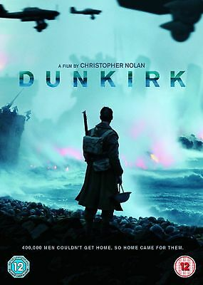 DUNKIRK 2017 DVD - Tom Hardy -Released 18TH DECEMBER - NEW & SEALED