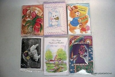 Lot of 218 Easter Greeting Cards w/ envelopes Mixed Retail wholesale