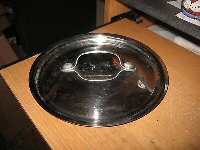 """Restaurant Equipment Supplies STAINLESS STEEL STOCK POT LID With 8.5"""" Opening"""
