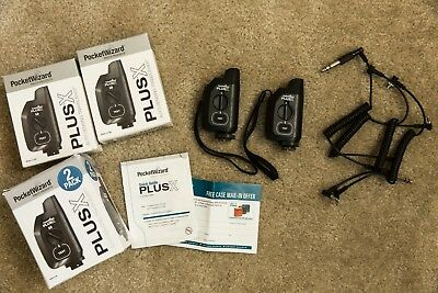 PocketWizard Plus X 2-pack (Gently used w/ original packaging)