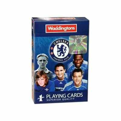 Waddingtons Number 1 Chelsea FC Football Playing Cards