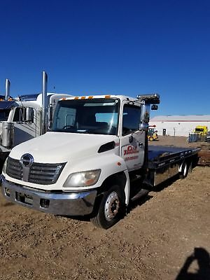 2010 Hino 258 Rollback Tow Truck