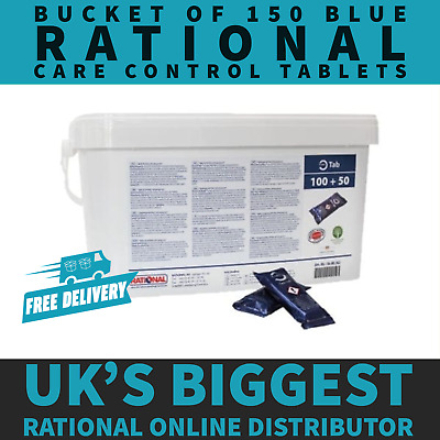 GENUINE Rational Blue Care Control Tablets (150 Tablets) - 56.00.562 NEW /SEALED