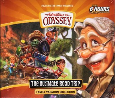 NEW Adventures in Odyssey THE ULTIMATE ROAD TRIP Family Vacation Collection 6 CD