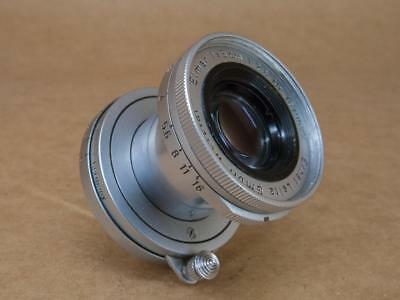 Leitz Leica 50mm 1:2.8 Elmar Lens Screw Mount 1958