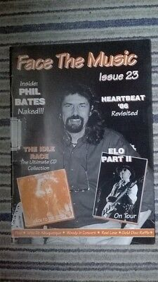 Electric Light Orchestra Face The Music Fanzine Issue 23 June '96 Feat Heartbeat