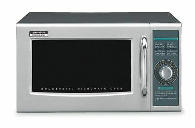 Sharp Stainless Steel Professional Microwave Oven, 0.95 cu. ft., 120V @ 60 Hz -