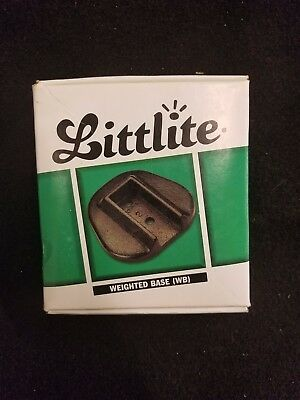 littlite weighted base black for L model NO RESERVE light never used