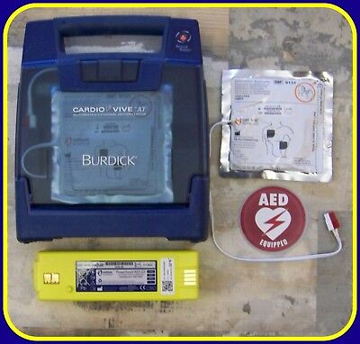Cardiac Science Vive Just Re-certified AED WITH 2018 Pads & 100% Charged Battery