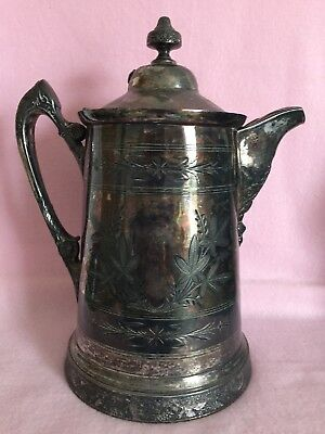 Antique ornate Water Pitcher