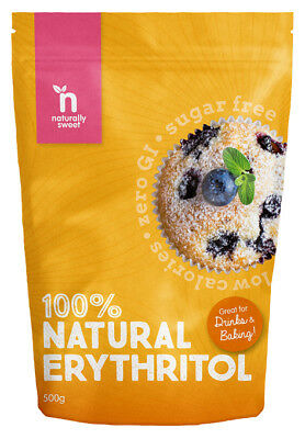 Naturally Sweet Erythritol 500g Pouch