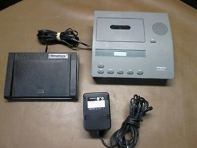 Dictaphone Model 2740 Standard Cassette with Foot Pedal