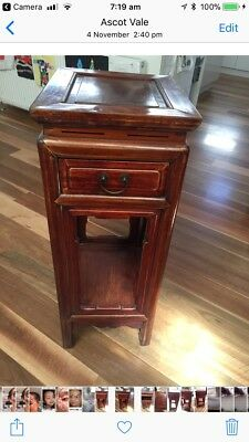antique oriental side/ hall table