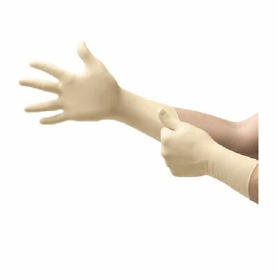 10 Pairs Ansell 91-225 Thick Clean Sterile Latex Disposable Gloves Size 8