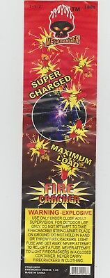 Megabanger FIRECRACKER PACK LABEL