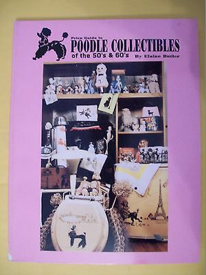 Vintage Poodle Dog Price Guide Collector's Book
