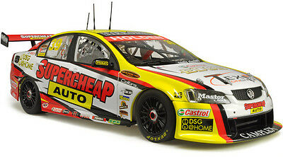 2009 Russell Ingall Supercheap VE Commodore 1:18 Classic Carlectables Cars