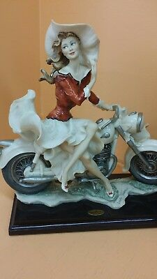 "G.Armani florence porcelain figurine ""ON THE ROAD """