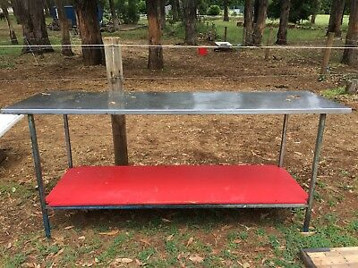 Stainless steal prep bench
