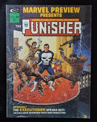 Marvel Preview Presents #2 The Punisher 1975 1st origin of The Punisher