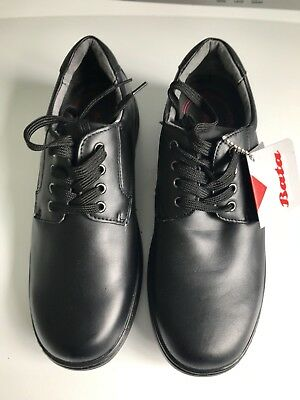 Bata Premium Collection Unisex Leather School Shoes Size US 9 W
