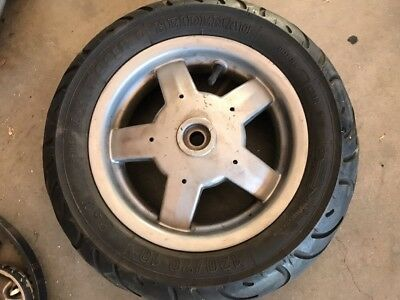 vespa lx150  Rear Wheel Lx125, 1998-2014 S 15,800km Oem 600067