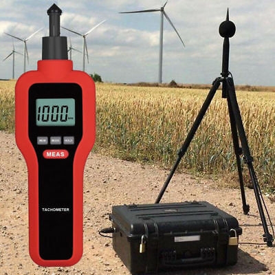HT-522 Two in one Digital Tachometer Photoelectric for Motor Electric Fan Test