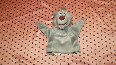 Disney Jungle Book Baloo Bear Hand/Glove Puppet