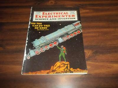 1919 September Electrical Experimenter Science And Invention, H. Gernsback, Rare