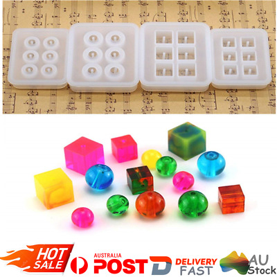 DIY Silicone Resin Jewelry Casting Mould Crystal Geometric Sphere Ornament Molds