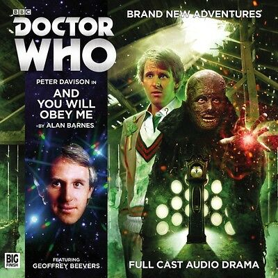 Doctor Who Main Range 211 and You Will Obey Me (Big Finish Doctor Who) (Audio C.