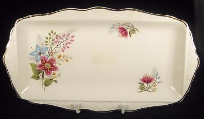 James Kent Old Foley 'Chimarita' Floral Sandwich Tray
