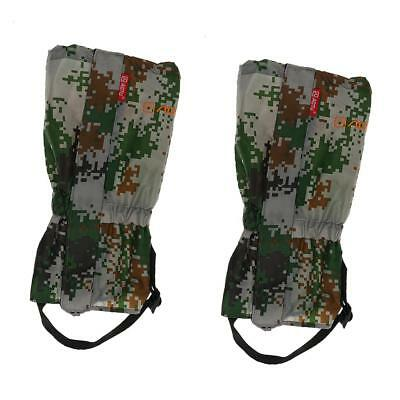 1 Pair Outdoor Hiking Walking Climbing Hunting Snow Legging Gaiters Cover