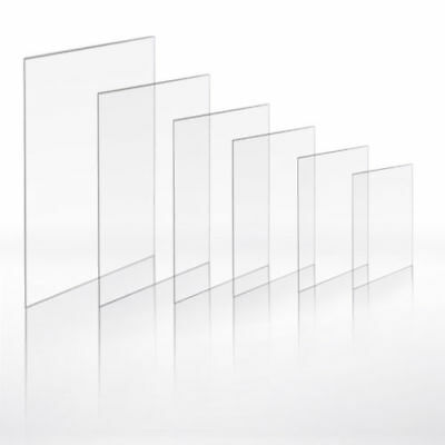 A4 Clear Perspex 1.5mm Thick  8x10, 9x7, 8x4, 6x4,BUY 2, Get 1 FREE