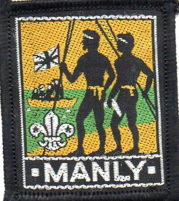 N S W  Scout Badge    Manly