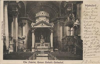Old Postcard Roman Catholic Cathedral Co Waterford Ireland