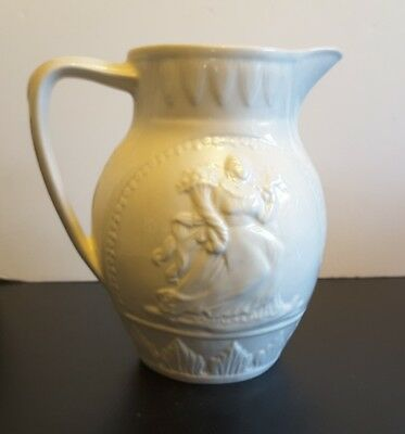 Hartley  Greens and  Co Leeds Pottery England JUG